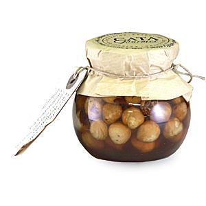 Hazelnuts in Chestnut Honey