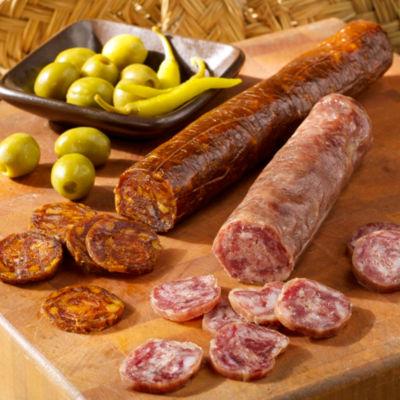 Ibérico Sausage Duo by Fermín