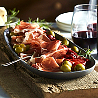 Sliced Serrano Ham by Peregrino