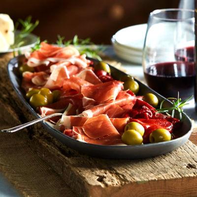 Sliced Serrano Ham by Peregrino