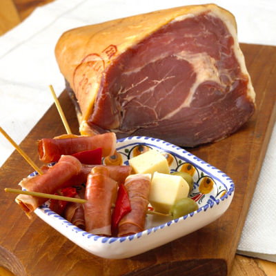 Boneless Jamón Serrano End Piece by Peregrino (1.5 Pounds)