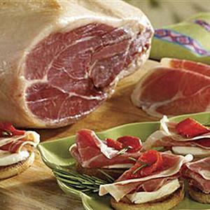 Whole Boneless Serrano-Style Virginia Ham