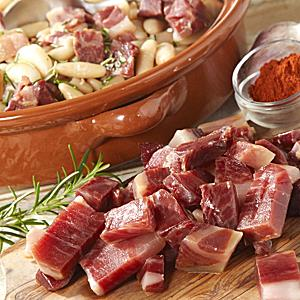 Jamón Ibérico Pieces for Cooking by Peregrino