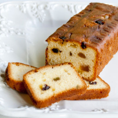 Budín Valente Con Frutas - Fruit Cake (2 Packages)