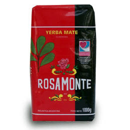 2 Packages of Rosamonte Yerba Mate Traditional from Argentina