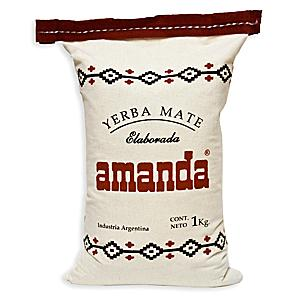 Yerba Mate by Amanda in Cloth Bag