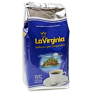 Sugar Roasted Ground Coffee by La Virginia (2 Bags)