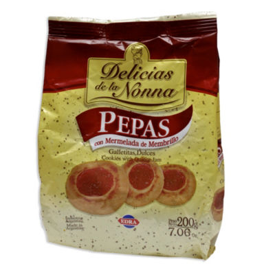 6 Packages of Membrillo Cookies by Delicias de la Nonna