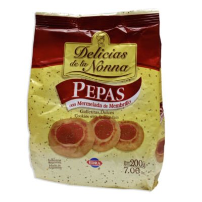 4 Packages of Membrillo Cookies by Delicias de la Nonna