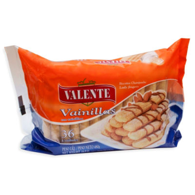 Vanilla Ladyfingers Cookies by Valente (2 Packages)
