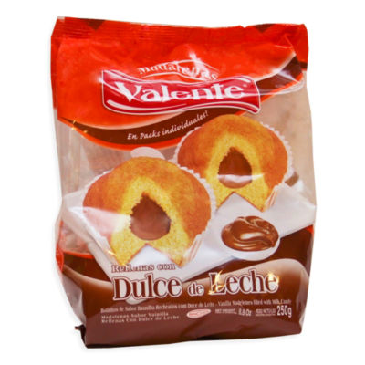 Dulce de Leche Filled Muffins by Valente (2 Packages)