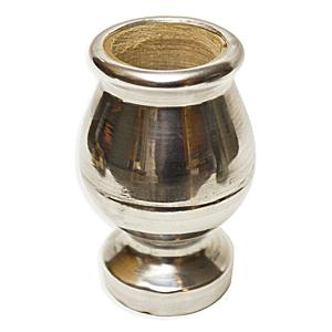 Mate Wooden Cup with Aluminum Finish
