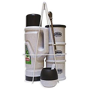 Portable Yerba Mate Serving Set - Black