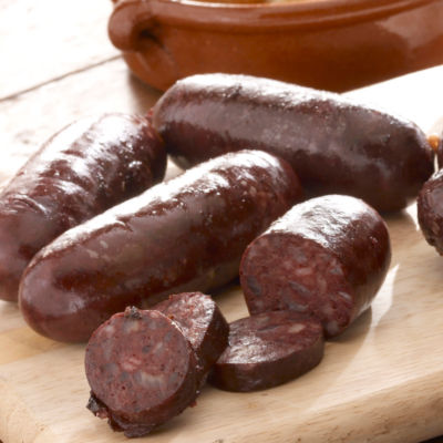Argentinian Style Morcilla Black Sausage with Onions (3 Packages)