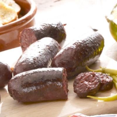 Colombian Style Morcilla Black Sausage with Rice (3 Packages)