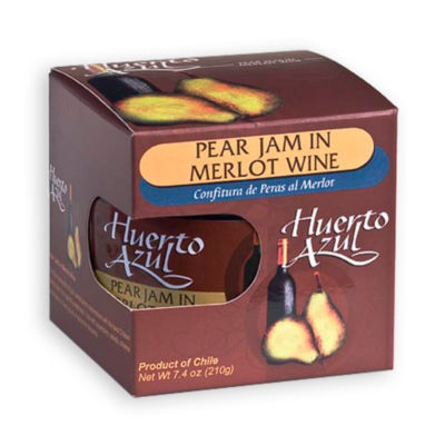 Pear Jam with Merlot Wine by Huerto Azul