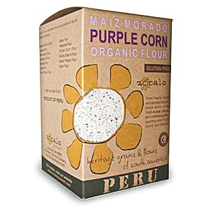 Organic Purple Corn Flour from Peru