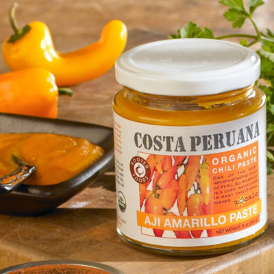 Organic Aji Amarillo Pepper Paste (2 Jars)