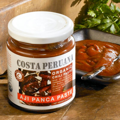 2 Jars of Organic Aji Panca Pepper Paste