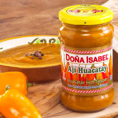 Aji Huacatay Hot Pepper Paste (2 Jars)
