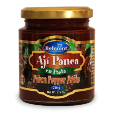 3 Jars of Aji Panca Pepper Paste by Belmont