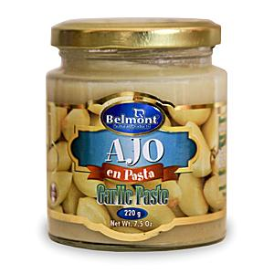 Ajo en Pasta - Garlic Paste by Belmont (3 Jars)