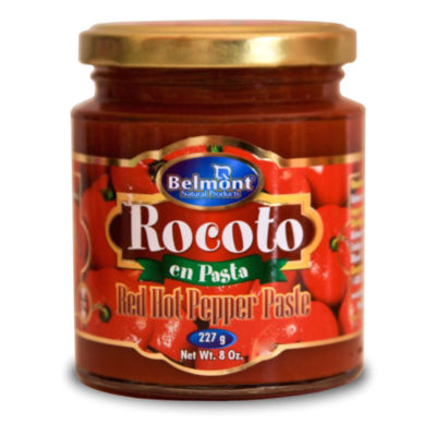 Rocoto Hot Pepper Paste by Belmont (3 Jars)