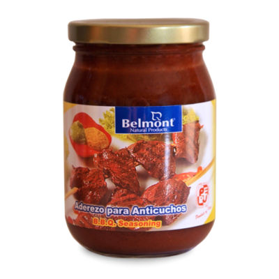 2 Jars of Aderezo Para Anticuchos - Barbecue Marinade by Belmont