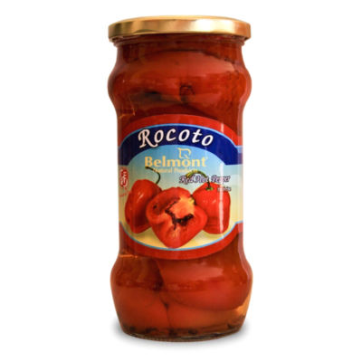 Rocoto Red Peppers in Brine from Peru (2 Jars)