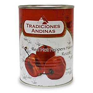 Rocoto Red Pepper Halves from Peru (2 Tins)