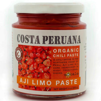2 Jars of Organic Aji Limo Pepper Paste