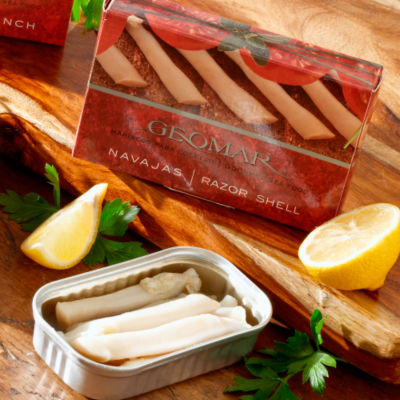 Navajas  - Gourmet Razor Clams from Chile (2 Tins)