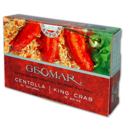 2 Tins of Centolla - Antarctic King Crab from Chile