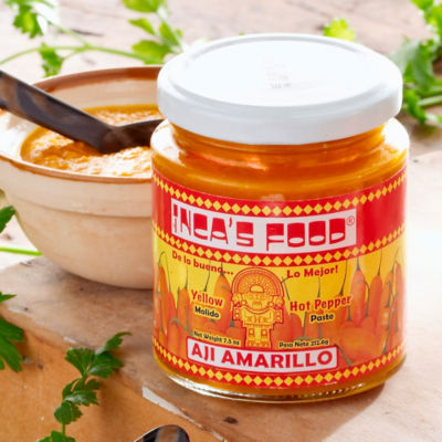 Inca's Food Yellow Hot Pepper Paste (2 Jars)