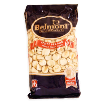 3 Packages of Mote Pelado - Peeled Giant Corn by Belmont