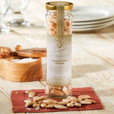 Hand Toasted Largueta Almonds with Sea Salt