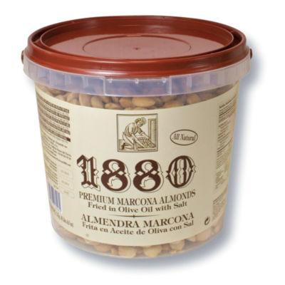 Premium Marcona Almonds Sautéed in Extra Virgin Olive Oil (4.4 lbs)