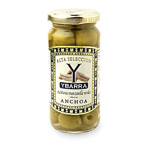 Anchovy Stuffed Olives by Ybarra (2 Jars)