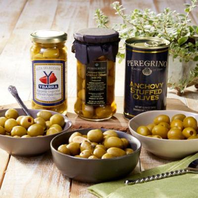 Gourmet Olive Trio
