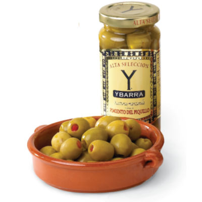 Piquillo Pepper Stuffed Manzanilla Olives (2 Jars)