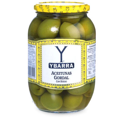 2 Jars of Jumbo Gordal Queen Olives with Pits