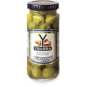 Almond Stuffed Olives by Ybarra (2 Jars)