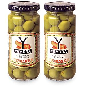 Salmon Stuffed Olives by Ybarra (2 Jars)