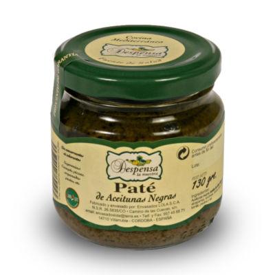 2 Jars of Gourmet Black Empeltre Olive Pate