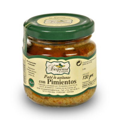 2 Jars of Gourmet Olive and Piquillo Pepper Pate