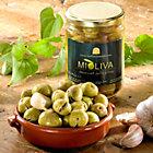 2 Jars of Fresh Cracked Olives in Garlic & Herb Marinade