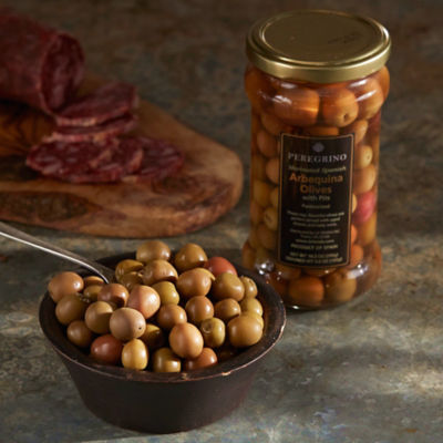 2 Jars of Arbequina Olives by Peregrino