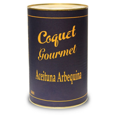 Arbequina Olives (Extra Large Tin)