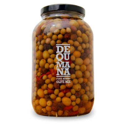 Mixed Spanish Olives with Herbs (Extra Large Jar)