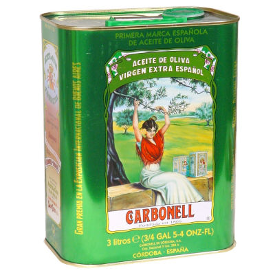 Carbonell Extra Virgin Olive Oil (3 Liter Tin)